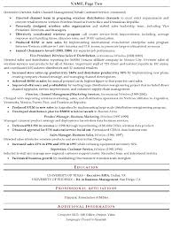 Resume Summary Examples For Sales by Executive Sales Resume 32074 Plgsa Org