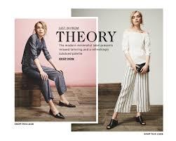 theory clothing theory clothing women s 2016 lookbook shopbop