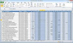 Excel Spreadsheet For Business Expenses by Spreadsheet Sle Excel Accounting Software Profit And Loss