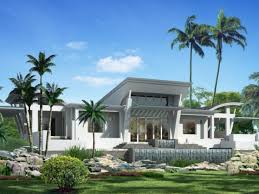 Luxurious Home Plans by Ultra Single Story Modern House Plans Modern House Design