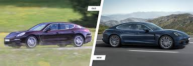 new porsche 2017 2017 porsche panamera old vs new compared carwow