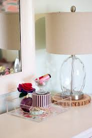lucite tray styled 2 ways u0026 giveaway michaela noelle designs