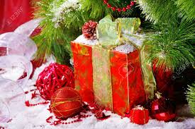 gift box under christmas tree stock photo picture and royalty
