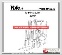 yale forklift spare parts pdf official pack full new download