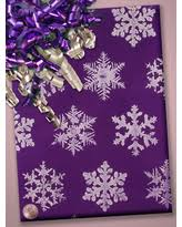 purple gift wrap deal alert gold snowflakes gift wrap 30 x 417 gift