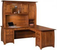 Solid Wood Executive Office Furniture by Solid Wood Executive Office Desks Countryside Amish Furniture