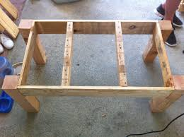 How To Make A Table Out Of Pallets Pallet Coffee Table Little Bits Of