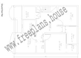 sq ft to sq m 30 40 feet 108 square meters house plan