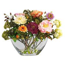 artificial flower arrangements silk arrangements nearly