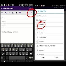 yahoo app for android browser unable to upload attachments in the yahoo mail android