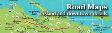 road map of st usvi island vacation guide what to do restaurants hotels in