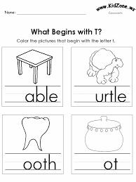 22 best consonanats worksheets images on pinterest kindergarten