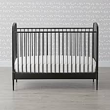 Black Convertible Cribs Convertible Crib Crate And Barrel