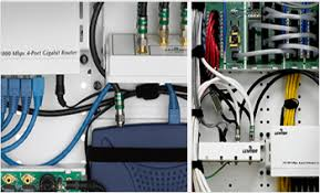 structured wiring and networking panels automate my home