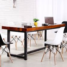 wood and wrought iron table country wrought iron dining table solid wood desk solid wood
