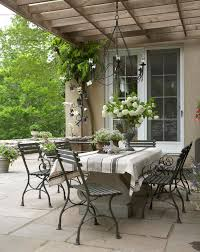 table home living outdoor garden conservatory country french loggias traditional home