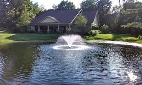 Solar Floating Pond Lights by Decorative Display Lake Fountain Pond Aerator Discount Pumps Biz