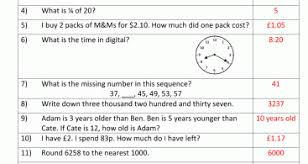 year 4 mental maths sheet 2 answers kelpies