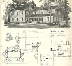 Chalet Plans by Vintage House Plan Vintage House Plans 1970s Farmhouse