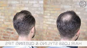 hair cuts for thining and bald spots bald spot hair style how to cut amp style balding or thinning hair