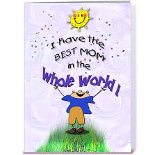 best mom from son mother u0027s day greeting card by mscardsharque