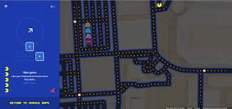 New York Google Maps by Google Brings Back Old Memories With Pac Man In Google Maps