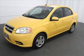 yellow chevrolet aveo in washington for sale used cars on