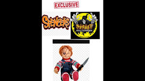 new talking animated chucky doll spencers spirit halloween youtube