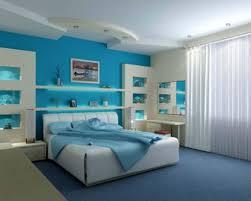 Contemporary Blue Bedroom - colorful small bedroom design ideas a modern blue bedroomjpg