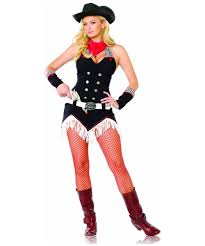 Cowgirl Halloween Costumes Adults Shoot Em Cowgirl Costume Women Cowboy Costumes