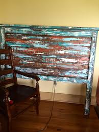 Reclaimed Boat Wood Furniture Ana White Reclaimed Wood Headboard Boat Wood Style Diy Projects