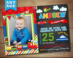 transportation birthday invitation transportation birthday