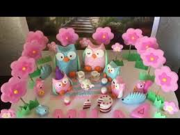 fairy cake woodland topper ideas youtube