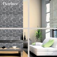 wood grain mosaic diy peel and stick kitchen backsplash interior wood grain mosaic diy peel and stick kitchen backsplash interior home improvement decor self adhesive metallic wall sticker in wall stickers from home