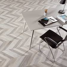 cerused mix wood effect chevron tiles walls and floors