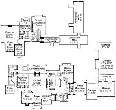 chateau floor plans european house plan 3 bedrms 2 5 baths 5024 sq ft 108 1050