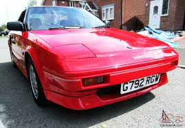 toyota coupe mr2 mk1 coupe possibly the best in uk 47000 mls 1990 beautiful