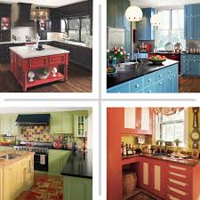 Painting Kitchen Cabinets Red by Kitchen Cabinet Paint Colors Beautiful Kitchen Painted Kitchen
