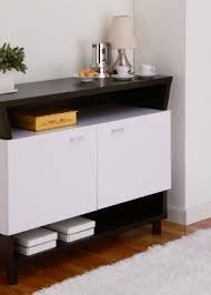 iohomes crestview contemporary buffet sideboard white and