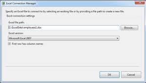 importing excel data into sql server via ssis questions you were