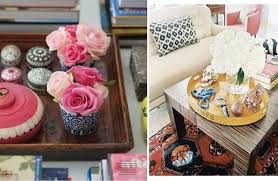 Decorative Trays For Coffee Table Enchanting Decorative Trays For Coffee Table Collection In