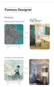 famous designer single bicycle art individual 3d shower curtain famous designer single bicycle art individual 3d shower curtain bathroom thicken waterproof bath shower curtain for