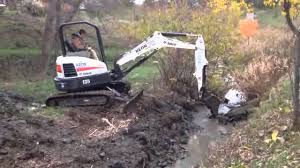 mini excavators s u0026e wards landscape management