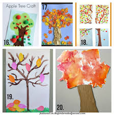 20 fall tree arts u0026 crafts ideas for kids u2013 the pinterested parent