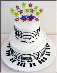 happy birthday music notes cake cakecentral com
