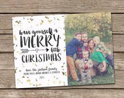 photo card year in review chalkboard custom photo