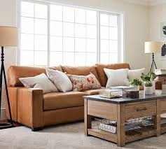 New Leather Sofas For Sale Pottery Barn Leather Sofas Armchairs Sale Save 20 On Gorgeous
