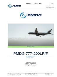 pmdg 777 tutorial 1 copyright simulation