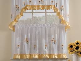 Cafe Tier Curtains Kitchen Cafe Curtains For Kitchen With 19 Cafe Curtains For
