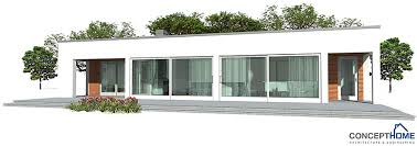 Economical House Plans Small Contemporary House Ch140 1f 130m 3b Great House Plan